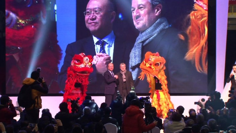 French car giant Renault opens first China factory