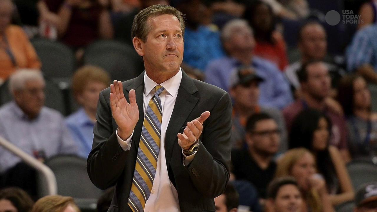 Phoenix Suns fired their coach and former standout player, Jeff Hornacek.