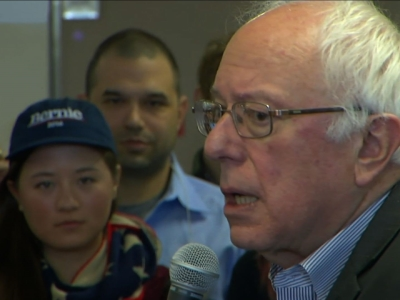 Sanders: 'Got a Tied Ballgame' With Clinton