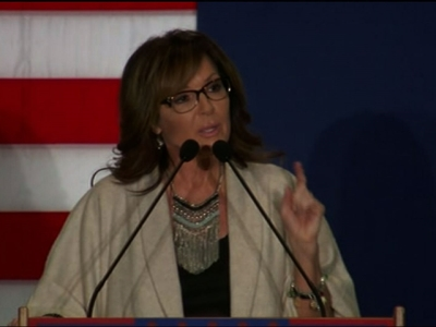 Palin, Trump Make Final Push Ahead of Caucus