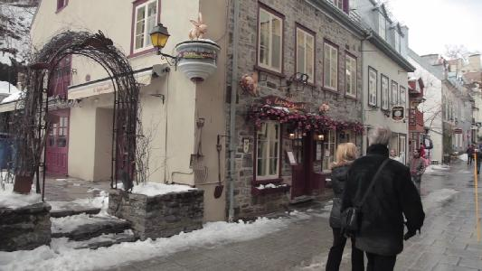 Romantic Getaway for Valentine's Day? Try Quebec City