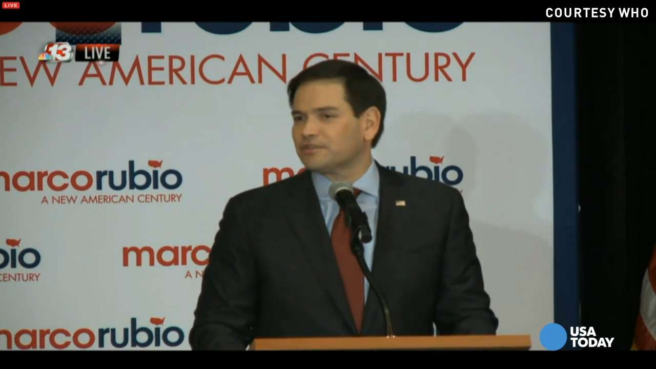 Marco Rubio says why it's his turn to be president