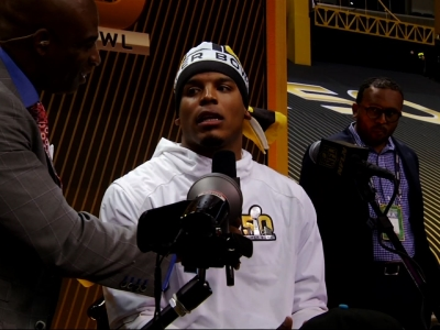 Cam Newton: 'Get Used to It'