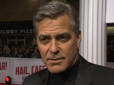 Clooney's Take on the Iowa Caucuses