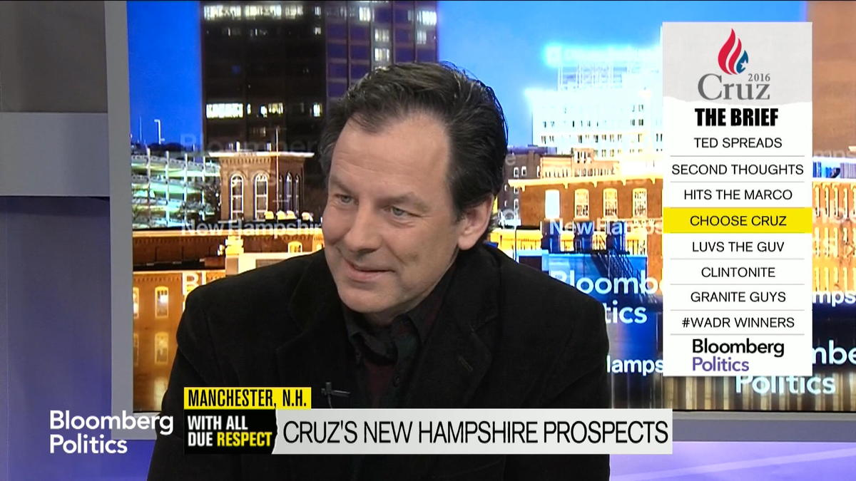 Cruz Spokesman Rick Tyler: We'll Do Well in New Hampshire