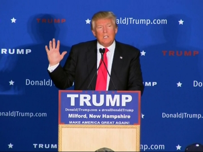 Trump 'not humiliated' by Iowa result