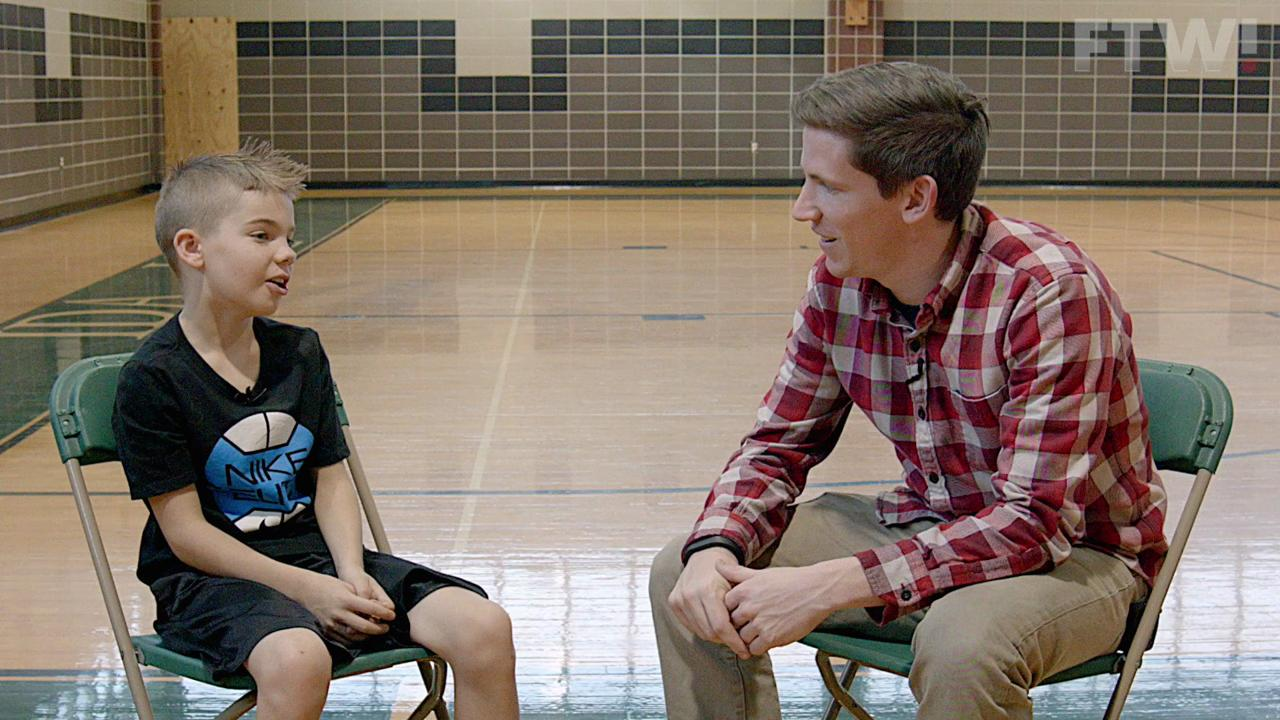 Nate Scott sits down with young basketball sensation Noah Cutler to talk about his basketball skills.