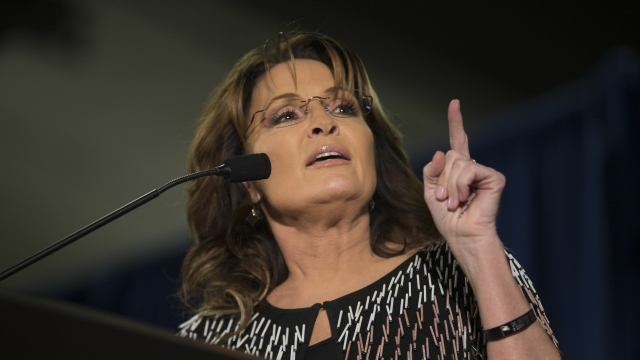 Sarah Palin accused Cruz staffer U.S. Rep. Steve King of spreading misinformation about Ben Carson's campaign and her endorsement of Donald Trump. Video provided by Newsy