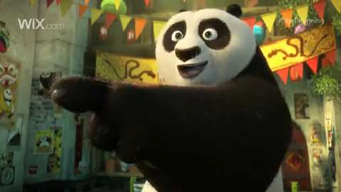 Kung Fu Panda Discovers the Power of Wix Wix.com.