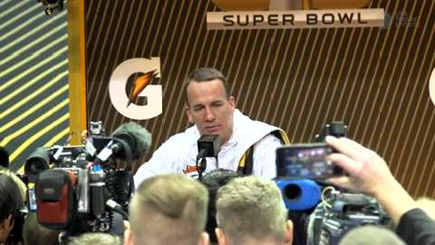 Peyton Manning and Broncos head to the Super Bowl