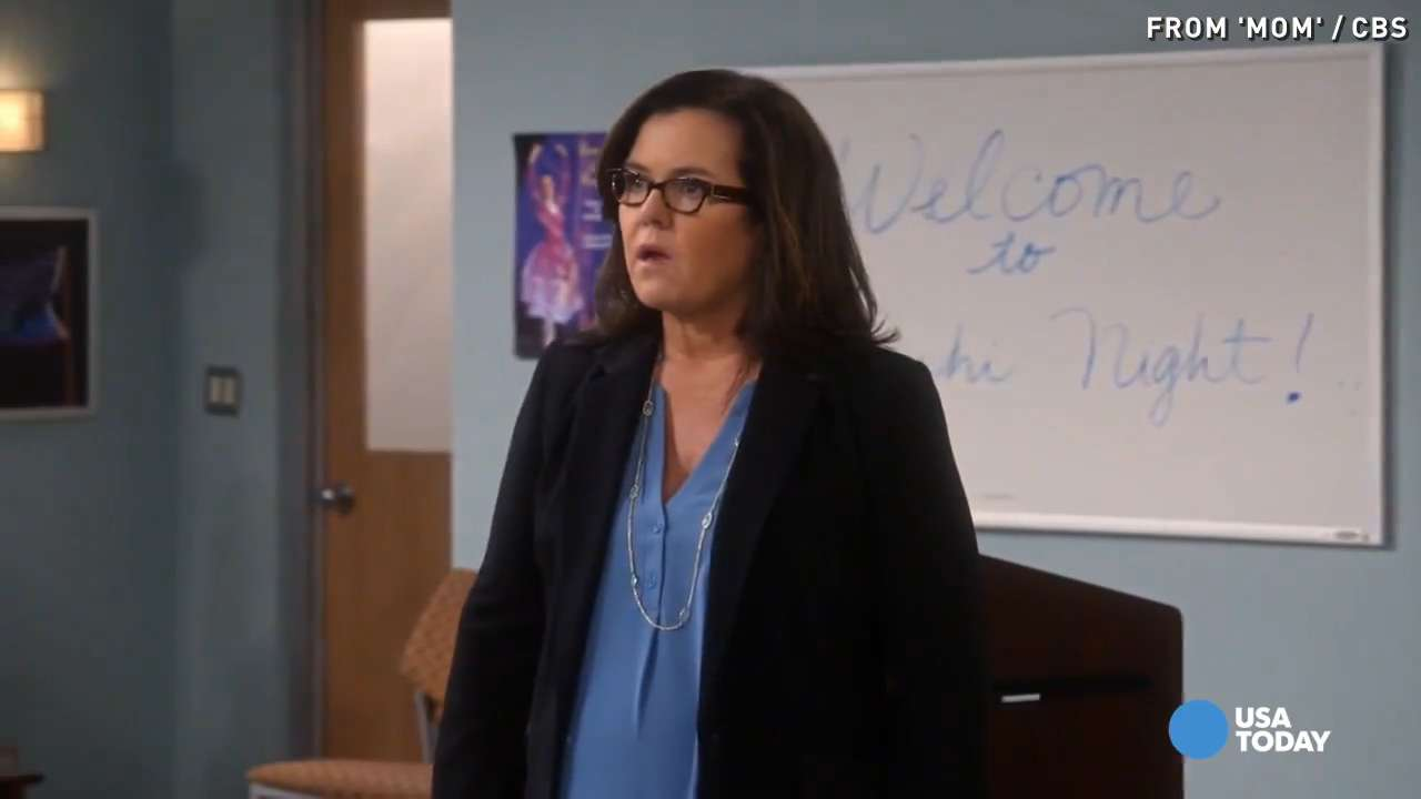 USA TODAY's Robert Bianco previews the television lineup for Thursday, February 4th. In this week's episode of 'Mom', Rosie O'Donnell guest stars as Bonnie's ex-girlfriend.