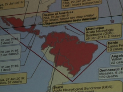 CDC Emergency Op. Center Tracks Zika Virus
