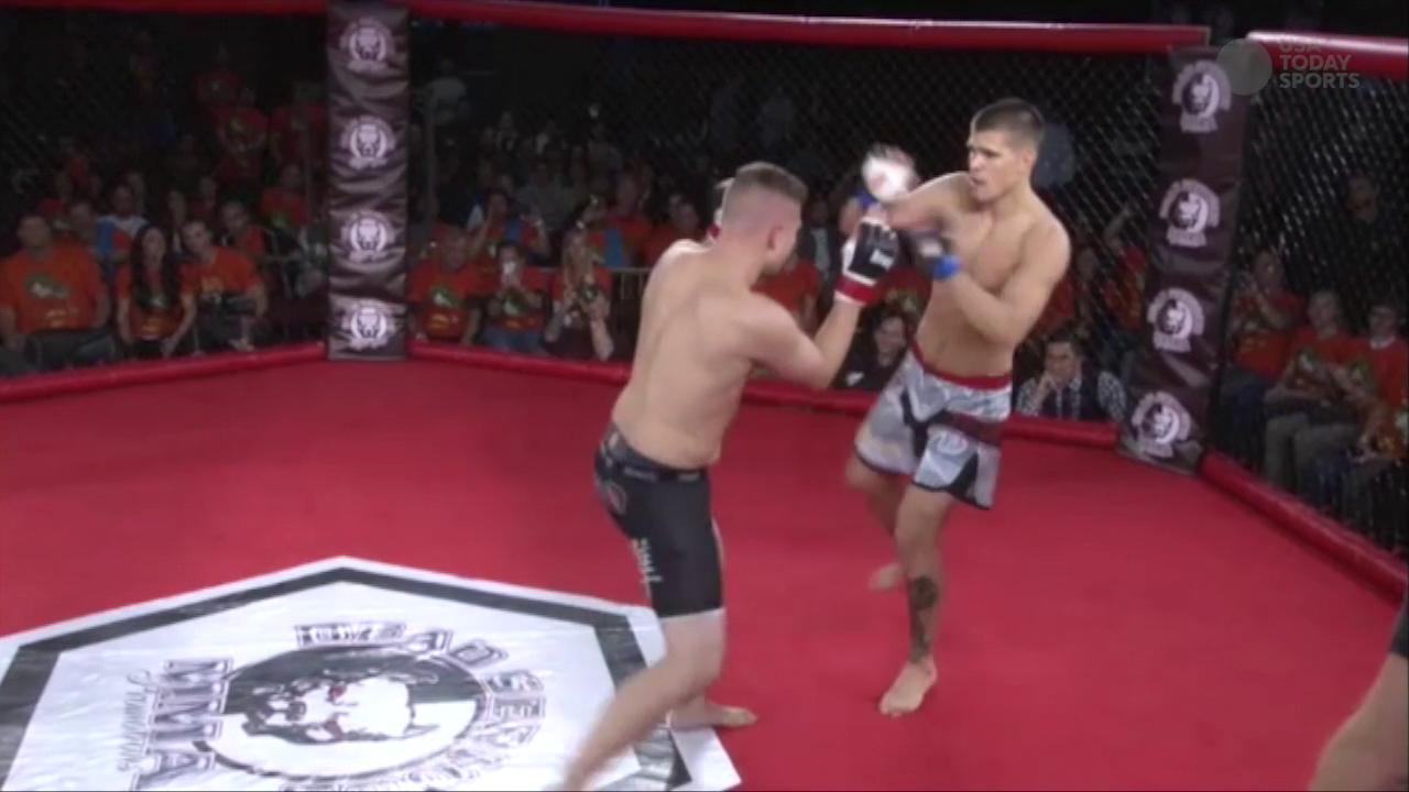 GFL fight: Mickey Gall vs. Ron Templeton at Dead Serious MMA 17 – November 2015