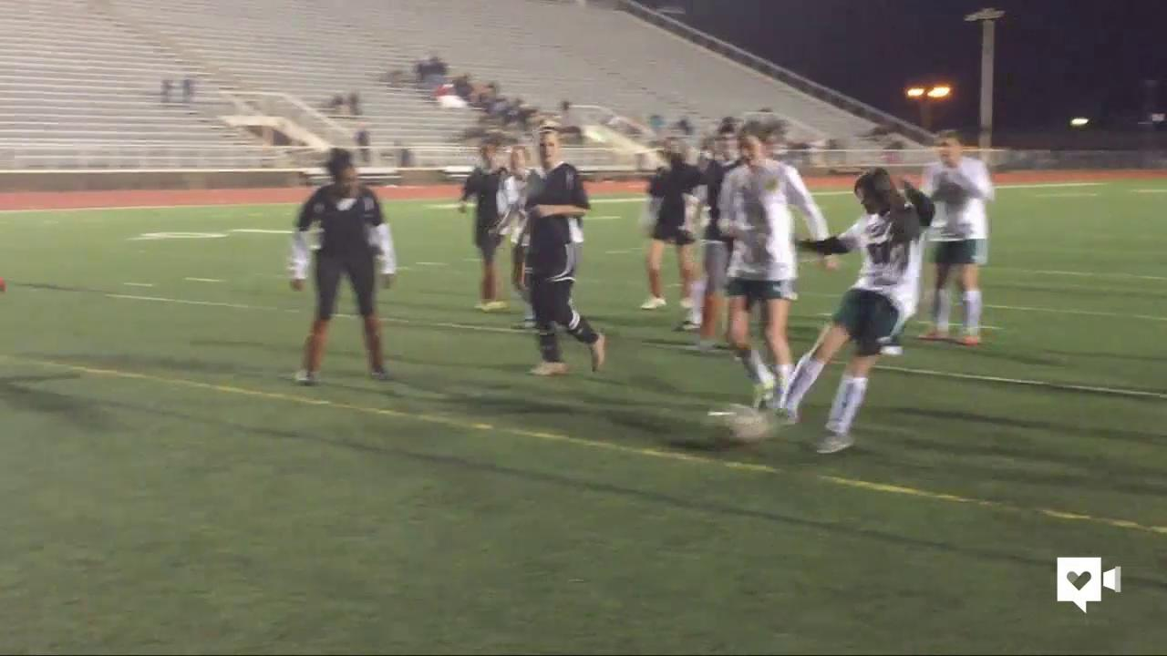 Special needs teen scores 'golden goal' for team
