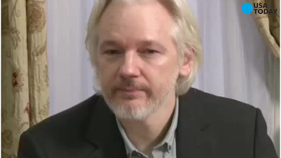 WikiLeaks founder Julian Assange said Thursday that he would allow British police to arrest him if a United Nations panel rules against him in a non-binding legal case about his detention in London.