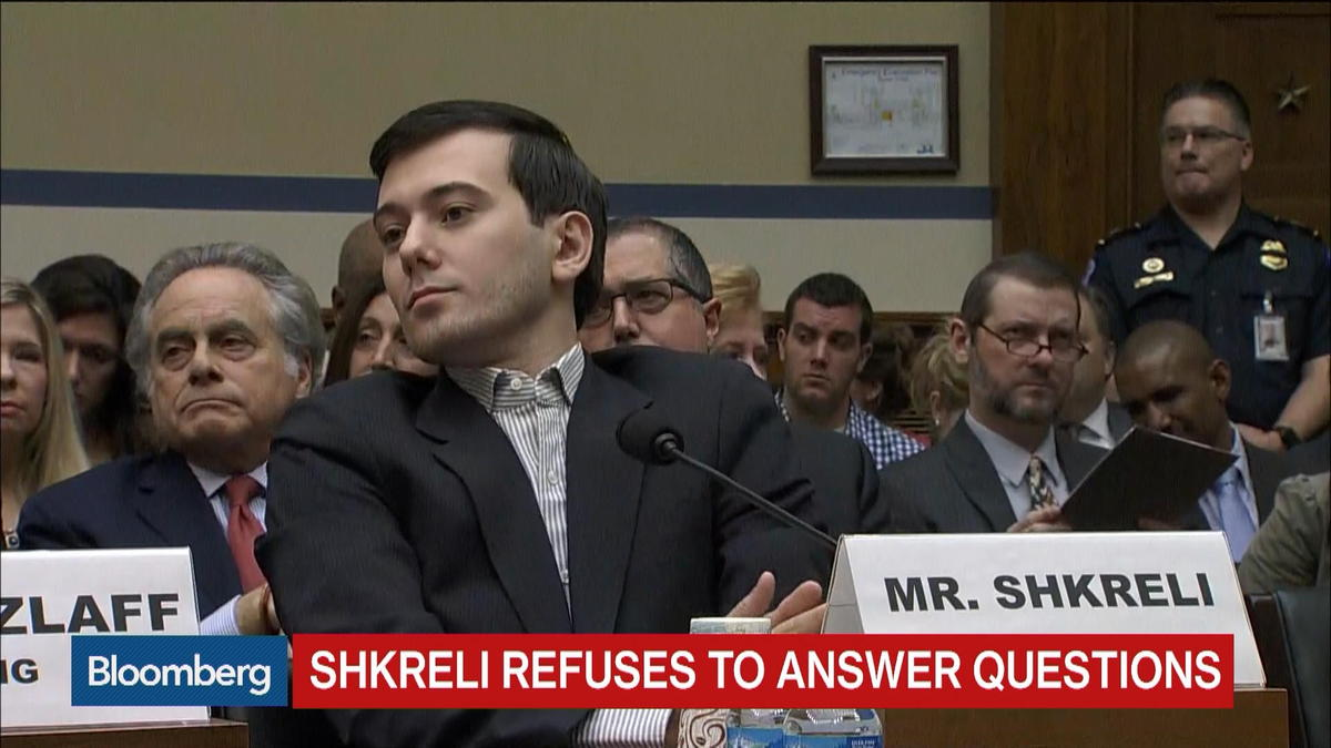 Feb. 4  -- Former Turing Pharmaceuticals CEO Martin Shkreli testifies on prescription drug prices.