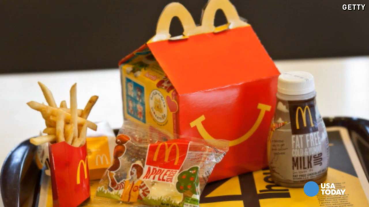 McDonald's replaces toys with books in Happy Meals