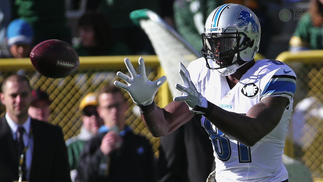 Lions receiver 'definitely hoping' his Detroit teammate will play next season.