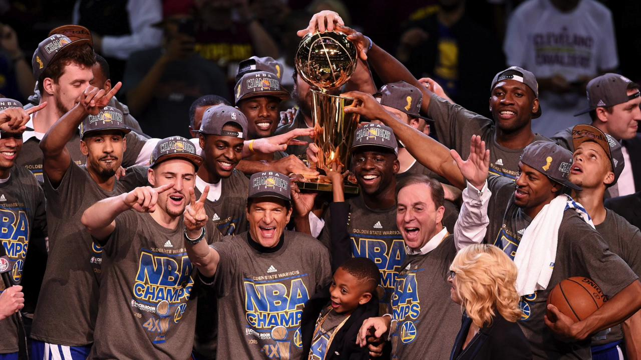 The Golden State Warriors were honored at the White House to commemorate their championship season a year ago.