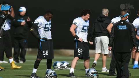 Super Bowl 50: Panthers practice report