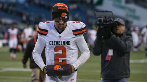 Johnny Manziel's ex-girlfriend shares details of her alleged assault by the Cleveland Browns' quarterback.