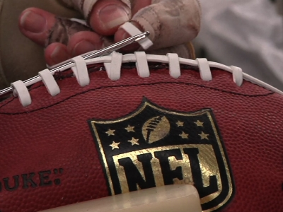 Ohio Workers Create Super Bowl Footballs