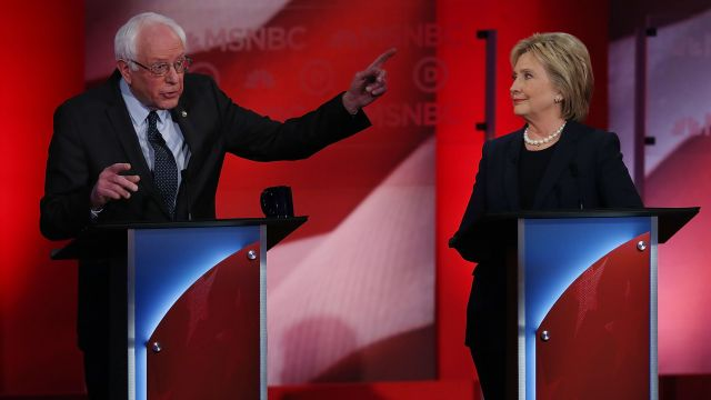 Hillary Clinton and Bernie Sanders discussed foreign policy at Thursday night's debate. It's an issue they rarely touch on the campaign trail.