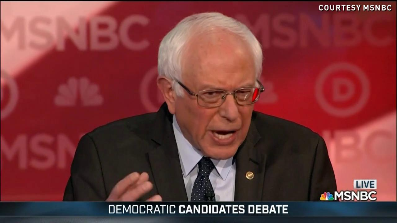 Bernie Sanders discusses Iowa Caucus results