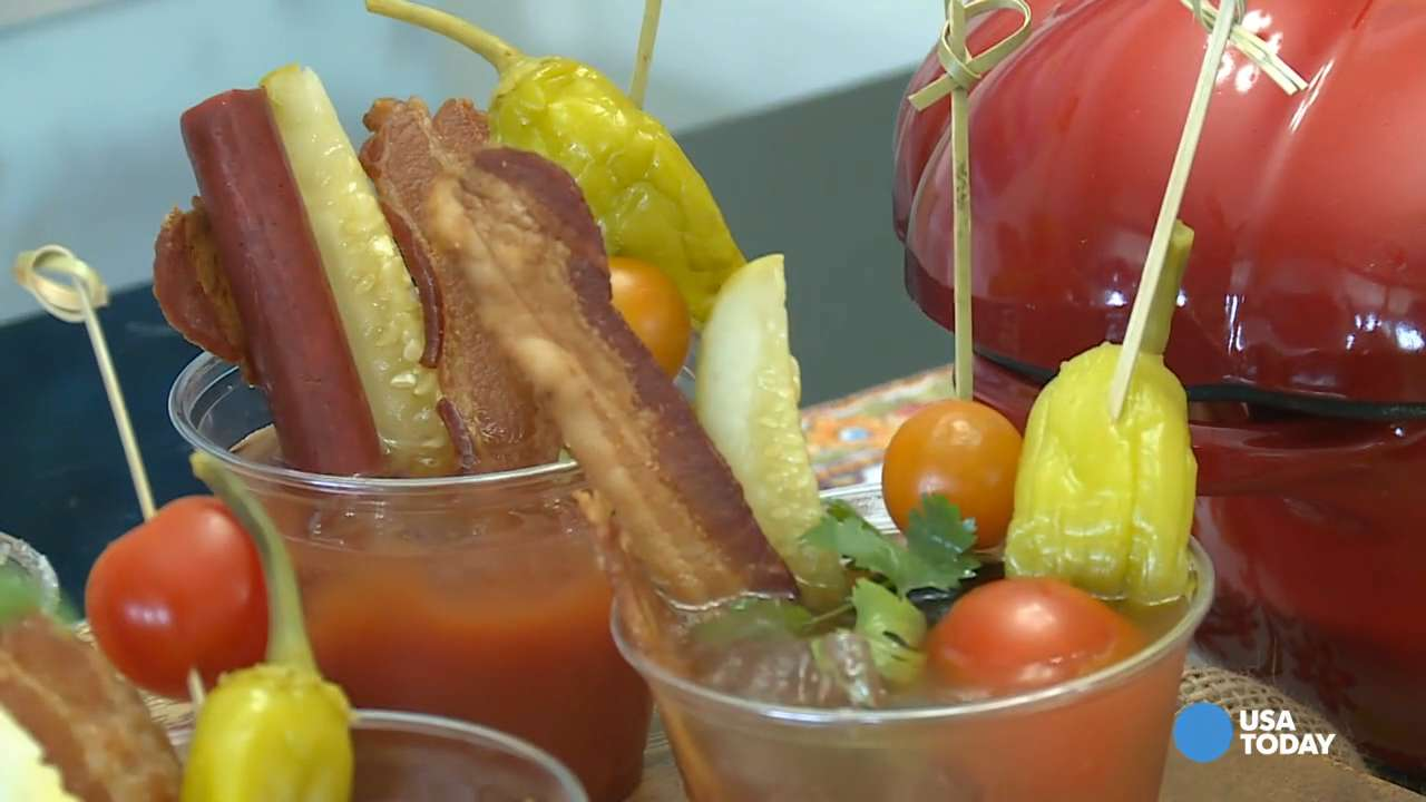 Learn how to make the perfect Bloody Maria to wow your Super Bowl party crowd.