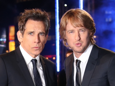 At the London premiere of comedy sequel 'Zoolander 2,' Ben Stiller and Owen Wilson talked about their excitement working opposite Justin Bieber and revealed who ruined the most takes by laughing. (Feb. 5)
