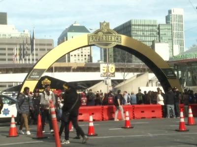 Fans from Denver, Charlotte and around the world have landed in San Francisco with dreams of victory for their favorite teams in Super Bowl 50. (Feb. 5)