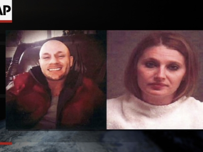 The search for a Missouri couple suspected in a series of robberies and abductions across the South ended in a shootout in the Florida Panhandle early Friday that left the man dead and the woman wounded, authorities said. (Feb. 5)