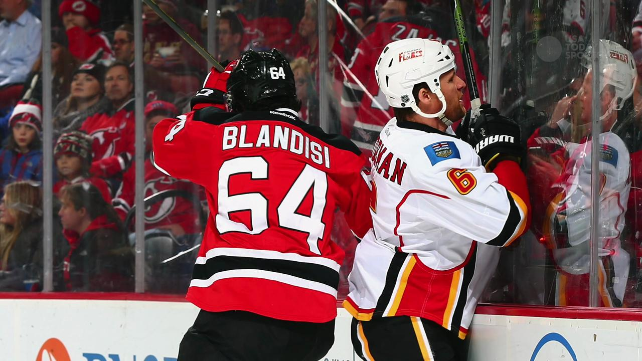 NHL's Wideman may argue concussion caused hit on official