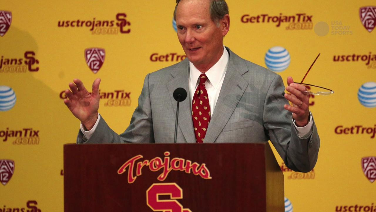 Pat Haden stepping down as athletic director at USC