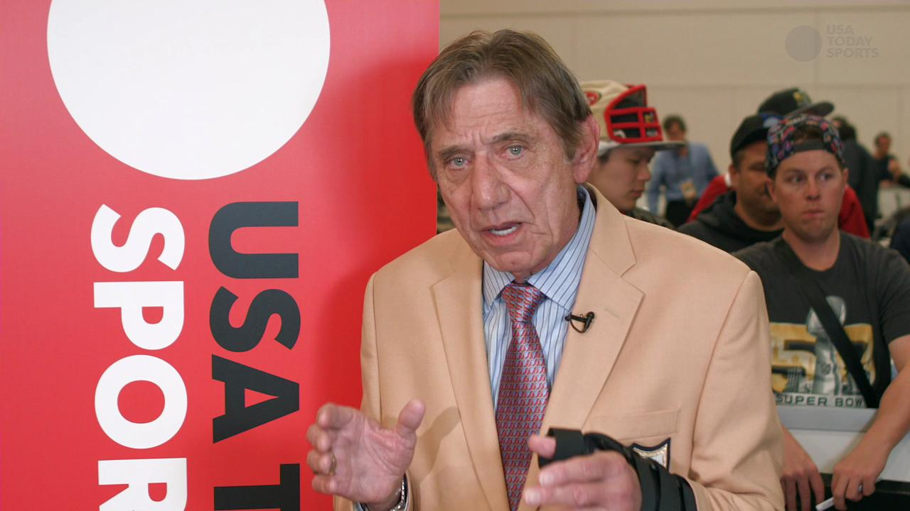 NFL legend Joe Namath expresses his views on concussions and CTE.