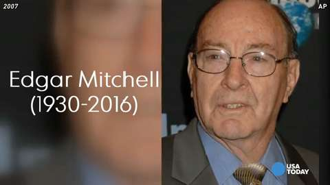 Apollo 14 astronaut Edgar Mitchell dies at 85