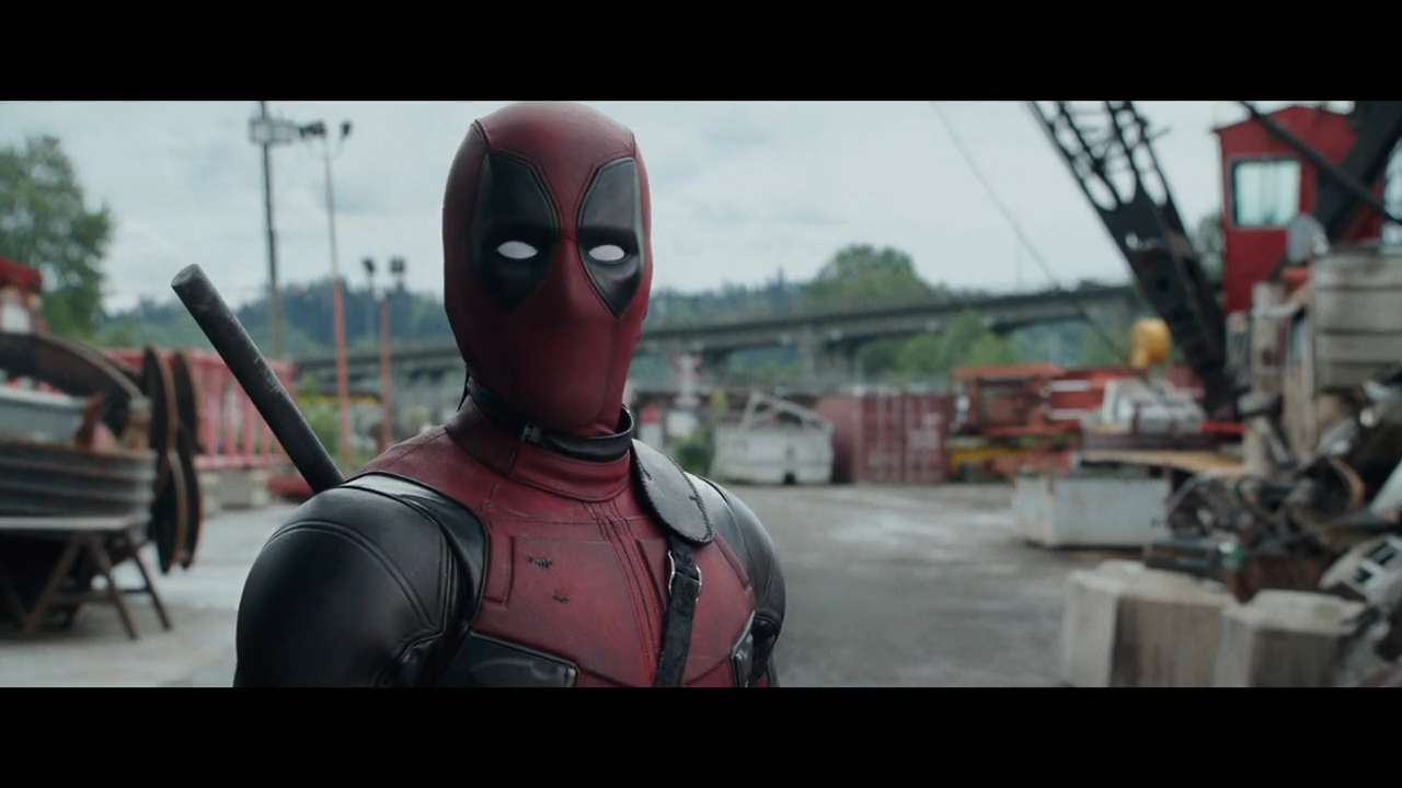 "Ryan Reynolds, Ed Skrein, Gina Carano and Brianna Hildebrand star in a clip from ""Deadpool."""
