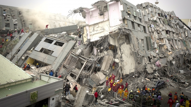 At least 11 people were killed in the earthquake, and many more were injured. Video provided by Newsy