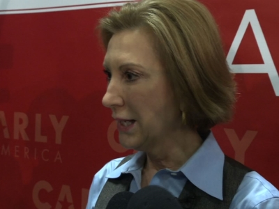 Fiorina Decries Being Excluded from NH Debate