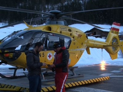 "Five people were killed on Saturday when a ""massive"" avalanche in the Austrian Alps struck skiers from the Czech Republic taking part in a freeriding camp, police said. Two other skiers were injured and ten others were rescued unharmed. (Feb. 6)"