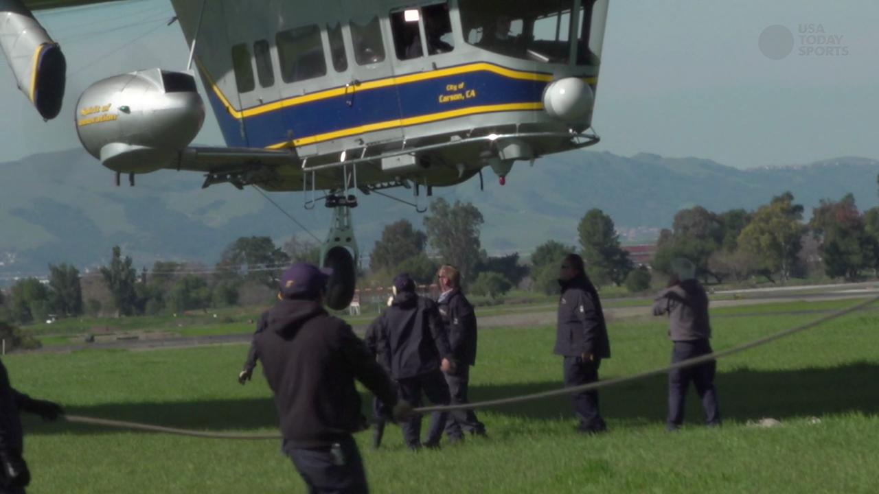 Ride in the Goodyear Blimp