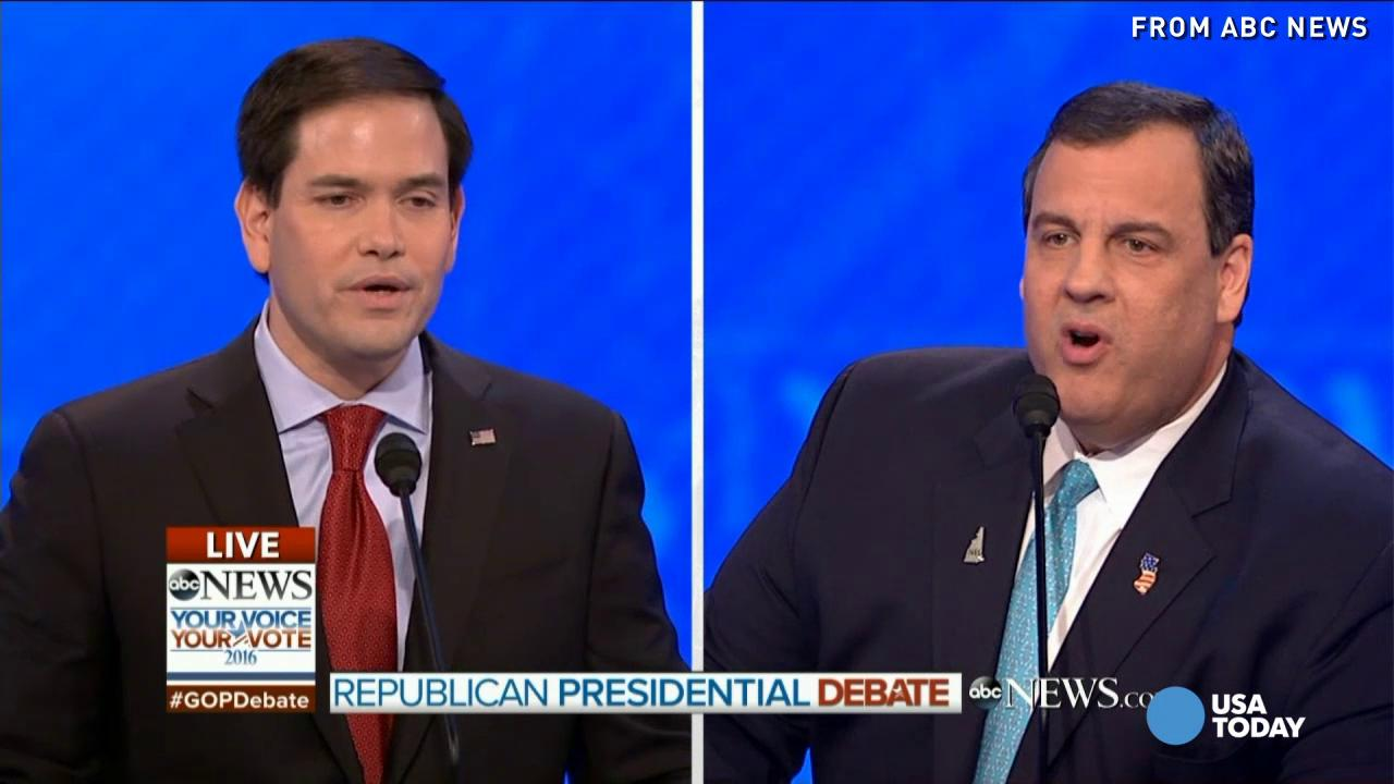 Rubio battled Christie, Trump got booed in GOP debate