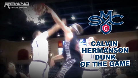 Saint Mary's Calvin Hermanson Dunk Of The Game vs. San Diego