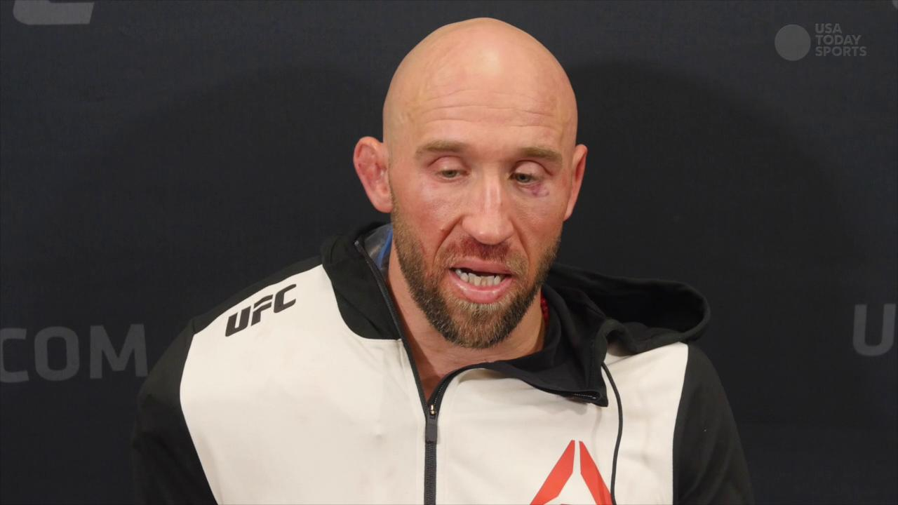 UFC Fight Night 82 Joshua Burkman Post Fight Interview