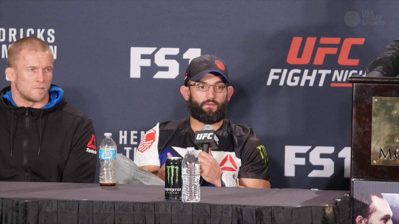 Post fight comments from the headliners of UFC Fight Night 82