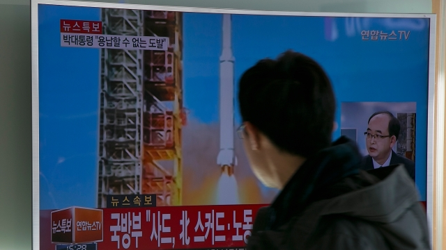 North Korea launched a long-range rocket Sunday despite international warnings. The U.S., South Korea and Japan have all condemned the launch.