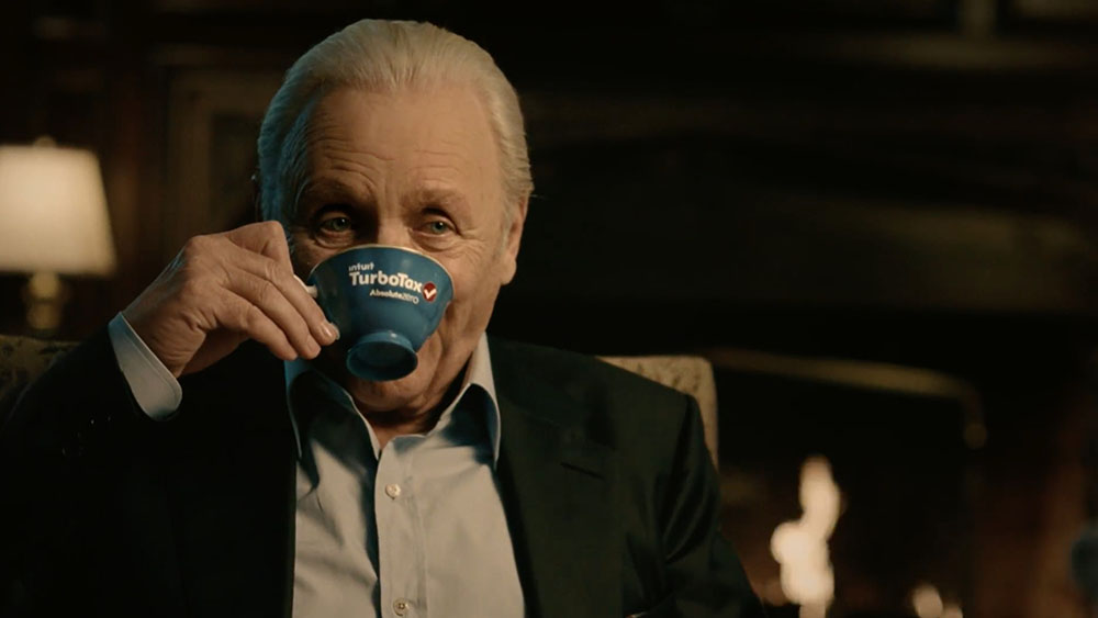 Ad Meter 2016: TurboTax 'Never a Sellout' features actor Anthony Hopkins