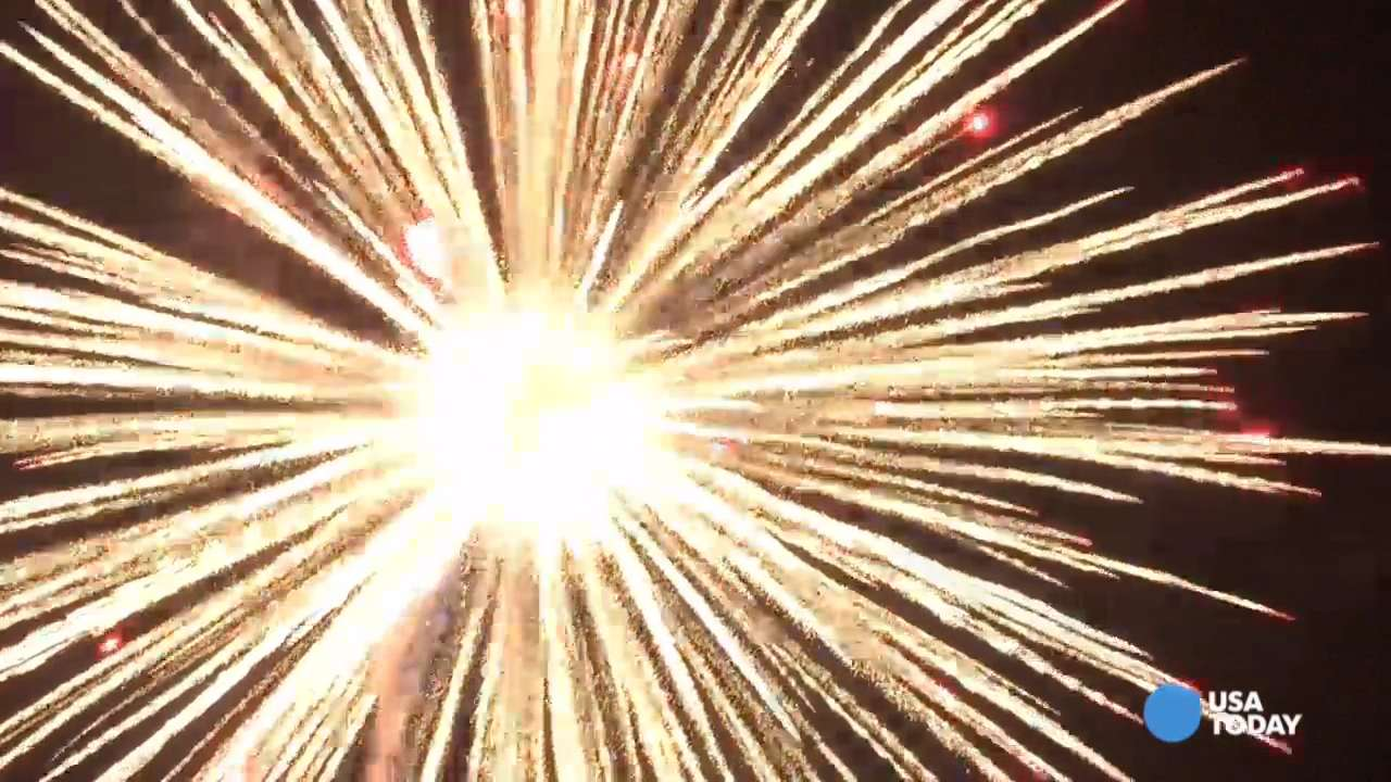 See America's largest firework explode