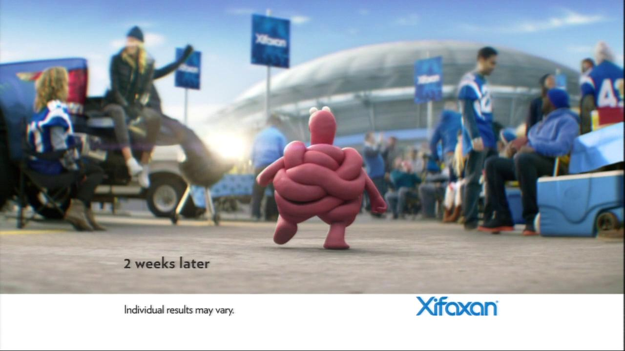 Xifaxin 2016 Super Bowl commercial