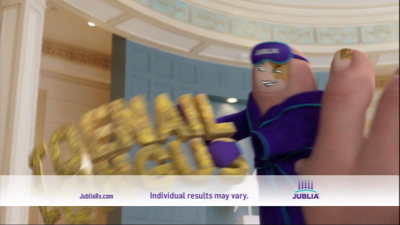 Jublia says they can help with your toenail fungus in their 30 second Super Bowl spot